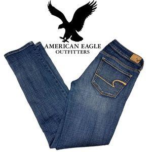 American eagle skinny Super stretch sz6